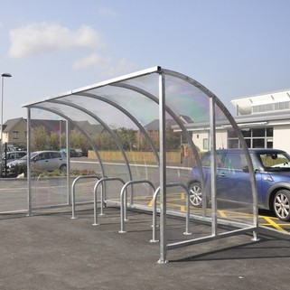 Cycle Shelter - Vandal Resistant Features