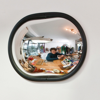 Convex Wall Mirror  Detective - For small shops, stores, offices & workshops