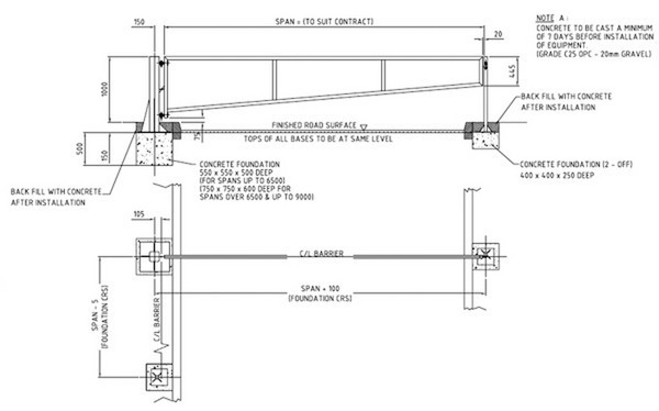 Swing Gate Manual Includes 2 Locking Posts Ready To