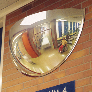 Panoramic Mirror 180 degrees super wide angled - Ultra light