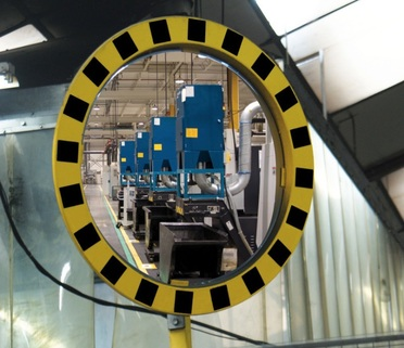 Industrial & Warehouse Safety Mirror - High Visibility - recommended by HSE