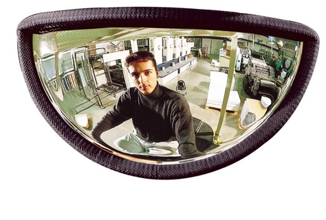 Mirrors for Fork Lift Truck - reduces blind spots with Panoramic view