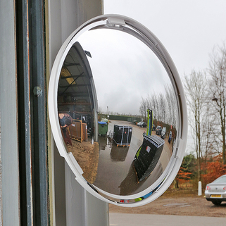 Mirror 3 Way Blind Spot Classic multi-purpose and Junction Mirrors - Anti-Scratch - VIALUX
