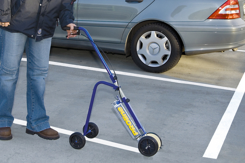 Paint Marking System Kit - Effortless marking of indoor/outdoor traffic areas