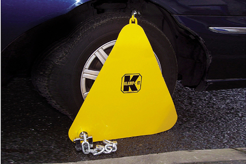 Wheel Clamp Home Office Type Approved - used by professionals