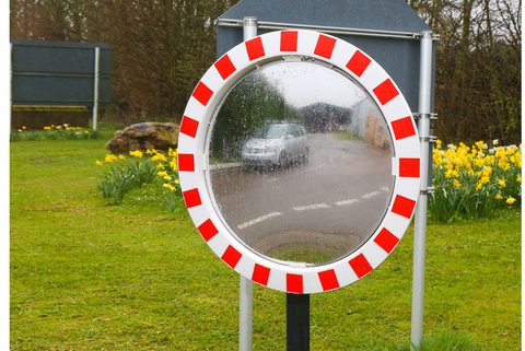 Road Traffic Mirrors - Best quality image - unbreakable VIALUX®