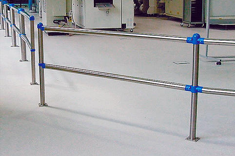 Railing System in Stainless Steel combining efficiency with elegance