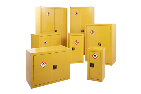 Hazardous Substance Storage - Yellow CoSHH
