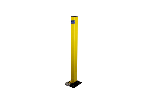 Fold Down Parking Post-Economical - Separate Lock Included-BULLDOG