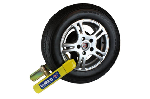 Wheel Clamp-Bulldog Euroclamp - Loved by vehicle Insurances and suitable for all vehicles