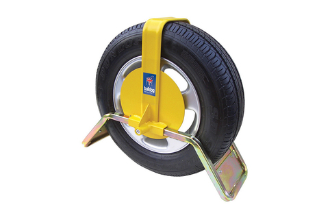 Wheel Clamps to secure your caravan-Bulldog QD-Sold Secure approval