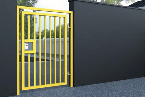Pedestrian Swing Gate for Commercial and Industrial use - Semi & Full Auto