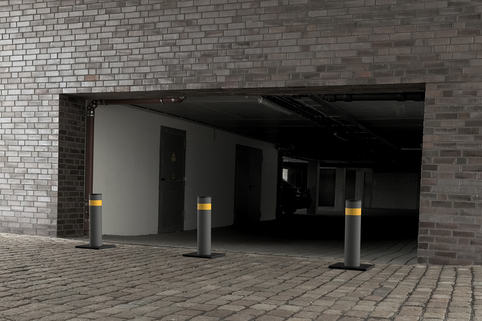 Automatic Rising Bollard - Great for Residential Areas