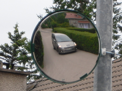 Convex safety & surveillance mirrors - Ideal for blind spots