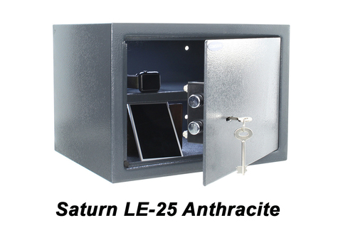 Safe (key operated) Choice of sizes, Double-bit safety lock.